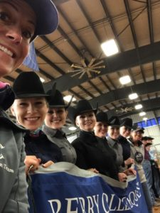 The Berry College Equestrian Team is headed to Intercollegiate Horse Shows Association Nationals once again to defend their Western Team championship. (Photo: courtesy Berry Equestrian Facebook)